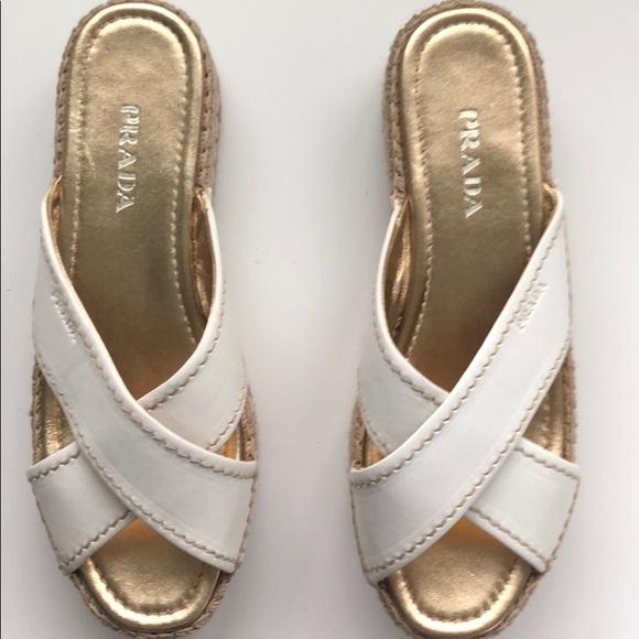 Prada Shoes | Prada Platform Espadrille